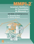 Informe Interpretativo. Pin 10 informes de MMPI-2,