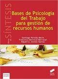 Bases de Psicolog�a del Trabajo para Gesti�n de Recursos Humanos