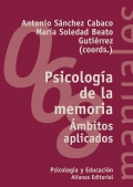 Psicolog�a de la memoria �mbitos aplicados