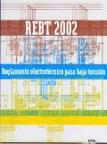 REBT 2002. Reglamento Electrot�cnico para Baja Tensi�n.