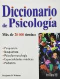Diccionario de psicolog�a. M�s de 20000 t�rminos.