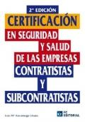 Certificacion en seguridad y salud en las empresas contratistas y subcontratistas.