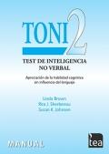 TONI-2, Test de Inteligencia no verbal: apreciaci�n de la habilidad cognitiva sin influencia del lenguaje