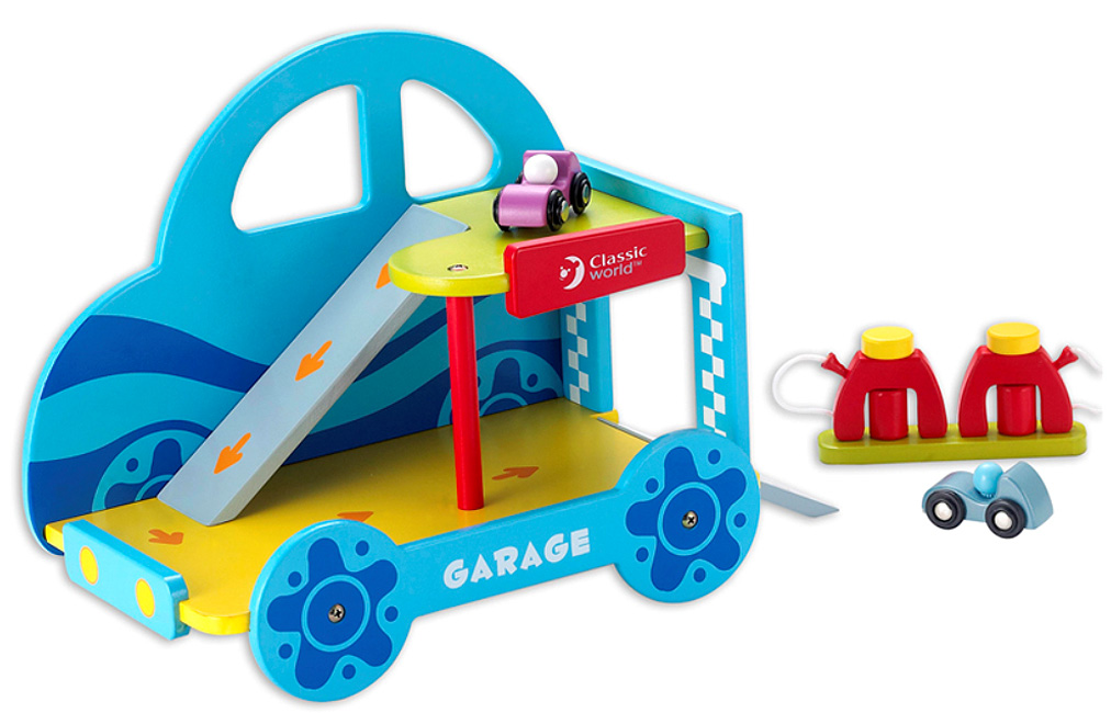 Garaje de coches de madera cayro - Garaje de coches ...