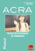 ACRA, Estrategias de Aprendizaje. (Juego completo)