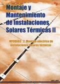 Montaje y mantenimiento de instalaciones solares térmicas II