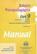 Batería psicopedagógica EOS-9. ( Manual + Cuadernillo ).