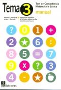 Paquete de 25 ejemplares de TEMA-3, Test de Competencia Matemática Básica 3.