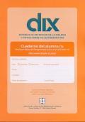DIX. Cuaderno del alumno. Educación Infantil