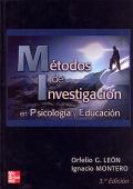 Métodos de investigación en Psicología y educación.
