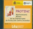PROTINC. Mantenimiento Mínimo de las Instalaciones de Protección Contra Incendios.