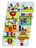 Superpegs: Pack de 12 modelos gigantes (Variado) Primary Colors