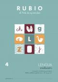 Lengua Evolución 4. Iniciación a la lectura y escritura. Sílabas, palabras y frases con: c,ch,z,j,g,x,k.