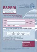 ESPERI - 2. Hoja de respuesta y uso de corrección (12-17 años)