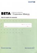 Hojas de registro de respuestas. Beta Renovado (10 cuadernillos)
