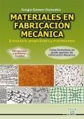Materiales en fabricación mecánica