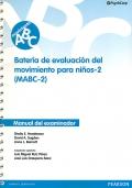 Manual del examinador de MABC-2. Batería de Evaluación del Movimiento para niños - 2.