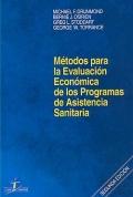 Método para la Evaluación Económica de los Programas de Asistencia Sanitaria