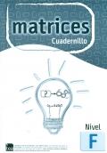 Cuadernillo Nivel F (unidad) de MATRICES. Test de Inteligencia General