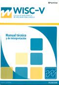 Manual Técnico de Interpretación de WISC-V, Escala de inteligencia de Wechsler para niños -V.