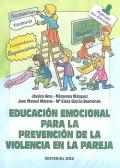 Educación emocional para la prevención de la violencia en la pareja.