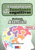 Estimulación de las funciones cognitivas. Cuaderno 4: Atención. Nivel 1.
