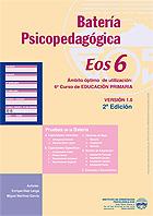 Paquete de 10 cuadernillos de la batería psicopedagógica EOS-6.