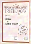 Cuaderno de aplicación de BADYG E2, Bateria de Aptitudes Diferenciales y Generales.