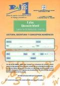 PAIB 1. Prueba de Aspectos Instrumentales Básicos en lenguaje y matemáticas. 5 años, Educación Infantil. Cuaderno de trabajo del alumno. Lectura, escritura y conceptos numéricos.