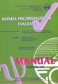 Manual de batería psicopedagógica EVALÚA-1.