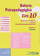 Paquete de 10 cuadernillos de la batería psicopedagógica EOS-10.