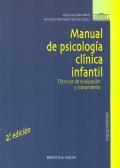 Manual de psicología clínica infantil. Técnicas de evaluación y tratamiento.