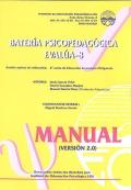 Manual de batería Psicopedagógica EVALÚA-8