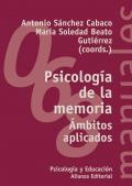 Psicología de la memoria Ámbitos aplicados