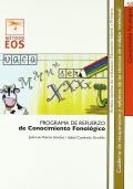 Conocimiento fonológico. Programa de refuerzo del conocimiento fonológico.