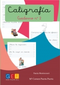 Caligrafía. Cuaderno 2. Pauta Montessori