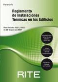 RITE. Reglamento de Instalaciones Térmicas en los edificios. RITE 2013