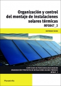 Organización y control del montaje de instalaciones solares térmicas