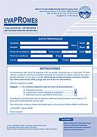 Paquete de 10 hojas de respuesta de Evapromes.