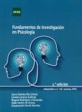 Fundamentos de investigación en Psicología (2ª edición, adaptada a 7ª ed. normas APA)