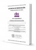 DIX 0, 1 y 2. Renovación de 10 usos