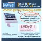 Gestor Online de BADYG I, Batería de Aptitudes Diferenciales y Generales. (60 usos)