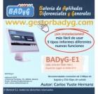 Gestor Online de BADYG E1, Batería de Aptitudes Diferenciales y Generales (60 usos)