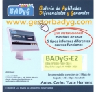 Gestor Online de BADYG E2, Bateria de Aptitudes Diferenciales y Generales. (60 usos)