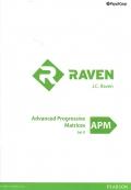 Cuaderno APM II de Raven, Matrices Progresivas.