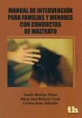 Manual de intervención para familias y menores con conductas de maltrato.