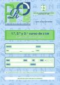 PRO 3. Prueba de Rendimiento Ortográfico. 1º, 2º y 3º curso de ESO. Cuaderno de trabajo del alumno.