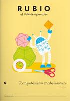 Rubio el arte de aprender. Competencia matematica 6. 11 años