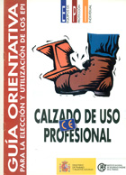 Guía orientativa para la elección y utilización de los EPI Calzado de uso profesional