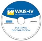 Software correción WAIS-IV, Escala Wechsler de inteligencia para adultos.